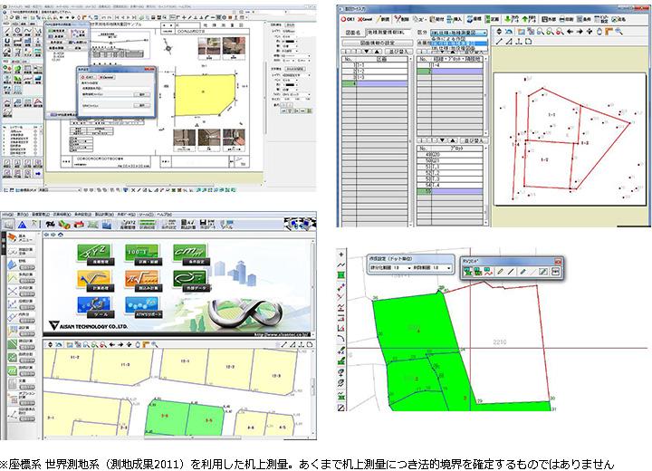 最新測量CADシステム