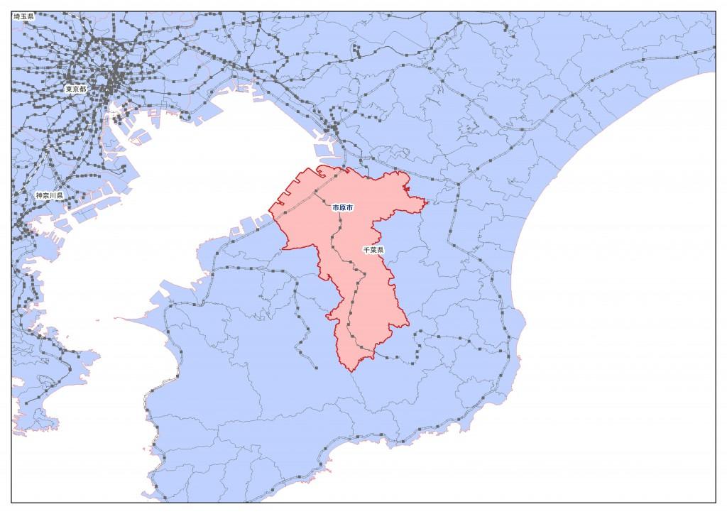地積規模大きな宅地 市原市