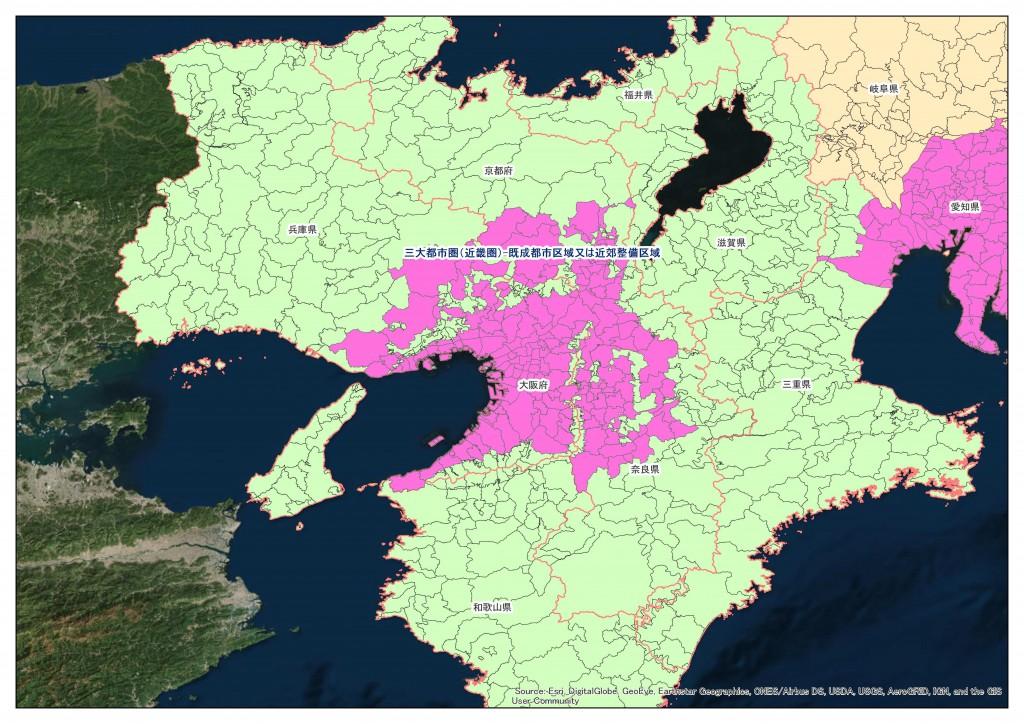 地積規模の大きな宅地の評価 近畿圏
