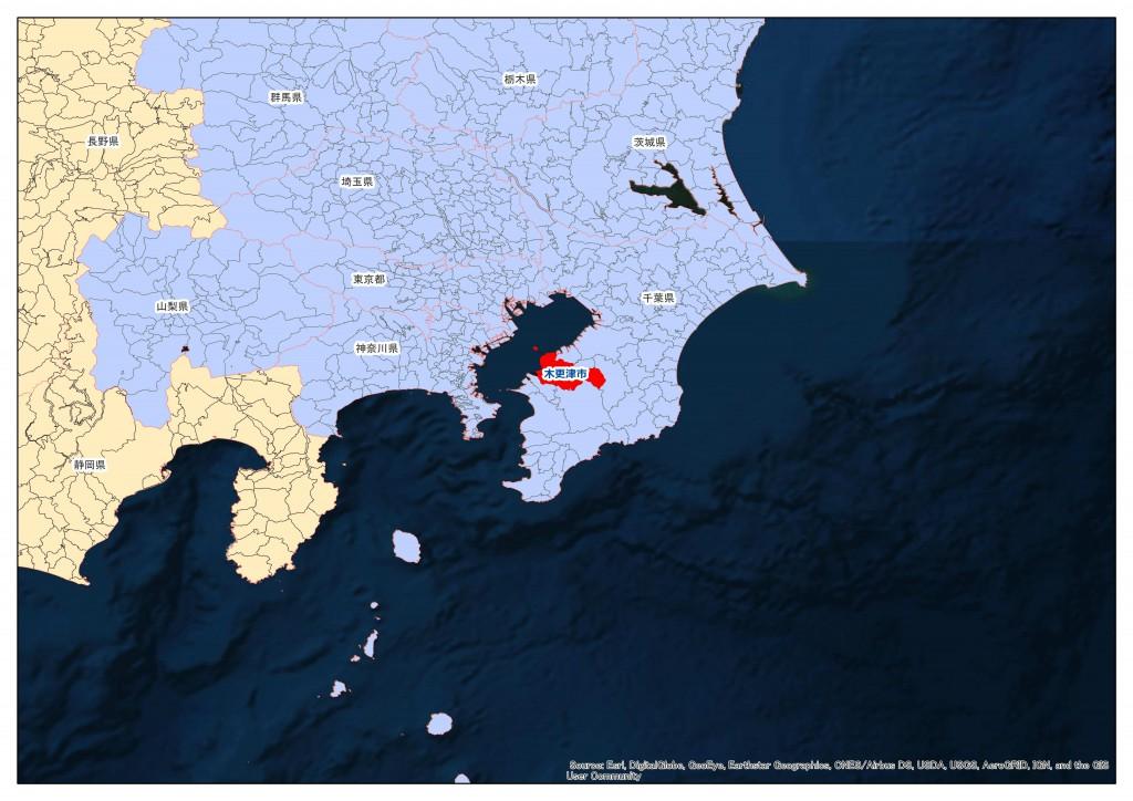 地積規模の大きな宅地:木更津市