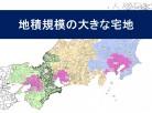 地積規模大きな宅地:三大都市圏