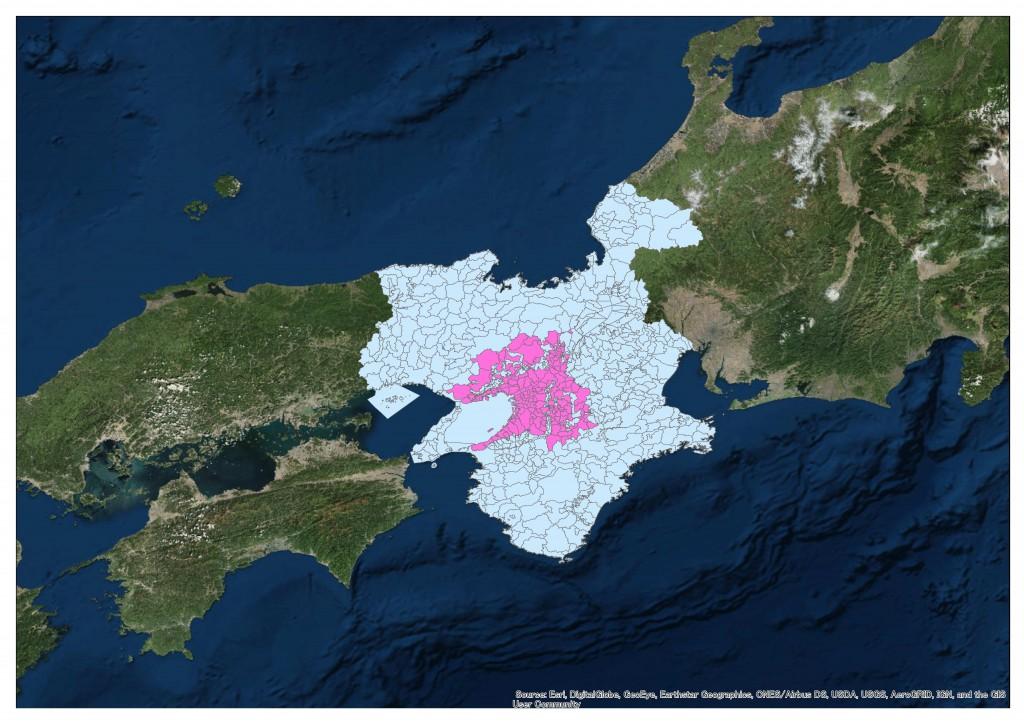 近畿圏(地積規模の大きな宅地の評価)-2